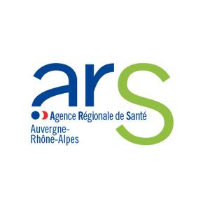 Logo agence régionale de santé Auvergne Rhône-Alpes