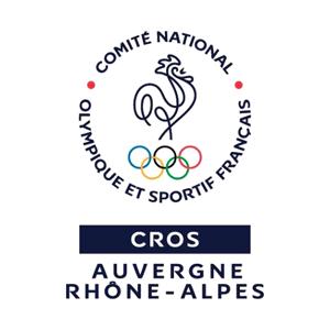 Logo du Comité Régional Olympique et Sportif d'Auvergne Rhône-Alpes
