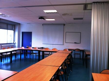 Salle réunion disposé en O